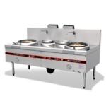 商用厨房双炒单温2.2米大灶/燃气大灶