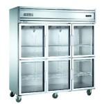 贝诺六门展示柜KG1.6L6  商用六门冰箱【贝诺冰箱】 【贝诺冷柜】