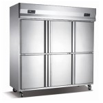 成菱六门冰箱KCD1.6L6  六门双温冰箱 成菱冷柜 成菱厨房六门冰箱