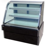杰冠HW-1200蛋糕柜落地式双圆弧蛋糕展示柜