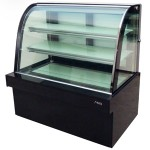 杰冠HC-1500蛋糕柜 落地式单圆弧蛋糕展示柜
