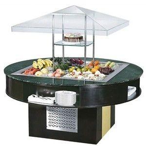 钧健沙拉台E-P1800FL8 圆形沙拉吧 沙拉台 钧健冷柜