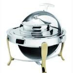 阿托萨(ATSOA)自助汤炉DSK51181    镀金可视温控圆形