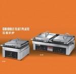 王子西厨EG-601N单压板扒炉 电铁板烧炉 单板压板扒炉