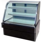 杰冠CW-1500蛋糕柜 落地式双圆弧蛋糕展示柜