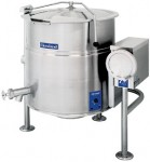Cleveland  KEL-T, 电蒸汽夹层汤锅,四脚,80加仑及100加仑容量,可倾斜