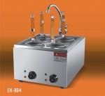 王子西厨EH-804台式4头电热煮面炉 电煮面炉 四头煮面炉