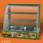 王子西厨DH-827B弧形保温展示柜 保温展示柜 弧形保温柜