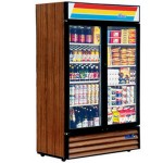 HECMAC大二门陈列柜G0.8L2  豪华双门酒水饮料陈列柜 冷柜 酒水展示柜 饮料冷藏柜CECCB105