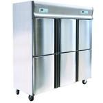 乐滋(LIZE)六门冰箱 乐滋冰箱 lize冰箱冷柜 乐滋六门不锈钢冰箱 全铜制冷 -18℃低温冰箱 六门高身雪柜