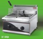 王子西厨DF-685A豪华燃气双缸双筛炸炉 双缸双筛炸炉 燃气炸炉