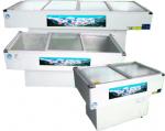 富雪岛海鲜柜TCD18-300  平面 (单机)
