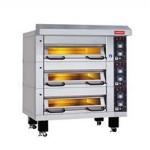 雷鸟TDC-4电烤箱 不锈钢三层九盘电烤箱 上掀式电烤箱 雷鸟烤箱