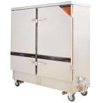 威尔宝蒸饭车 电热两用蒸饭柜 双门24盘蒸饭柜RS-24