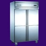 贝诺四门风冷冰箱KD1.0L4W【贝诺冰箱】 【贝诺冷柜】