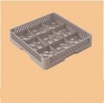 WG-X003五谷9格玻璃杯洗涤筐