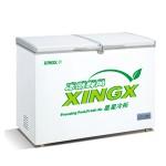 星星变温冷冻冷藏箱BD/BC358A   星星冷柜 商用冷柜