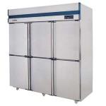 威尔宝SLLDZ4-1510C六门双机双温冷冻柜/冰箱