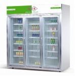 成菱三玻璃门展示柜LG-1300B  大三门冷藏保鲜冰箱 玻璃门冰箱 成菱冰箱 保鲜展示柜