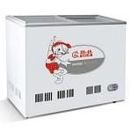 格林平面玻璃冷冻/冷藏冰箱SD/C-308  【格林展示柜批发】【格林冷柜代理】【格林冰箱价格】