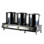 金肯煲汤炉JK-TPT40G12KW-CHBW  商用三头煲汤炉 台式煲汤炉