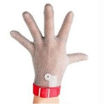 进口不锈钢丝防锯手套/防割手套