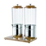 阿托萨(ATOSA)果汁鼎AT90315-2 榉木不锈钢冰冷式 双联