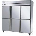 盛宝重工六门双机双温冰箱