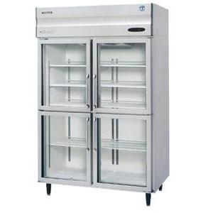 星崎四门冷藏展示柜HRE-147B-CHD-G  日本HOSHIZAKI星崎四玻璃门冰箱 风冷无霜四门冷藏柜
