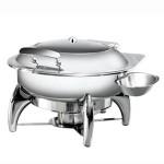 阿托萨(ATSOA)自助餐炉AT52293     圆形玻璃盖(配酒炉)   容量:5L