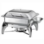 阿托萨(ATSOA)自助餐炉AT62293    2/3方形玻璃盖(配酒精炉)   容量:4.8L