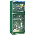 悦康消毒柜GRP-380BE-2  上下玻璃门商用消毒柜