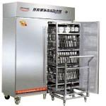 亿高热风循环消毒柜带推车(专放分餐盘)RTP1000HC  商用消毒柜 亿高消毒柜