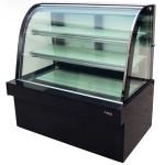 杰冠CC-1800蛋糕柜 落地式单圆弧蛋糕展示柜