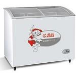 格林SD/C-336Y冷柜 弧面玻璃冷冻/冷藏冰箱【格林展示柜批发】【格林冷柜代理】【格林冰箱价格】