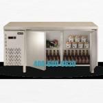 ASBER MGCR-180 二门冷藏工作台 艾斯铂平台保鲜雪柜 法格
