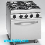 FAGOR CG7-41 四头燃气炉连烤箱 法格燃气煲仔炉连焗炉 法格组合炉