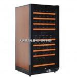 【红酒柜MG80D-T1P】 (双温,风冷式)  80支装洋酒酒柜 葡萄酒储存柜 酒窖 酒柜