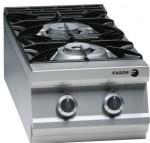 法格CG9-20+MB9-05 燃气双头炉连下柜 法格FAGOR煲仔炉连柜座