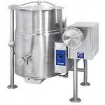 Clevelland KGL25T可倾式夹层汤锅 100升燃气蒸汽夹层汤锅 25加仑