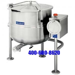 Clevelland KDL-40T可倾式夹层汤锅KDL-40T 直接接蒸汽