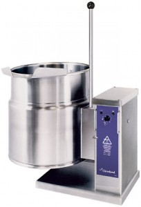 Clevelland可倾式夹层汤锅KET-6-T   电热夹层汤锅  23L