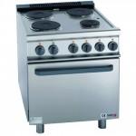 FAGOR CE-741 电热型四头炉连电焗炉 法格四头电煮食炉连烤箱