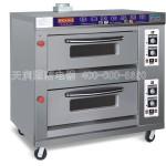 厨宝KB-20二层四盘燃气烤炉 厨宝二层四盘烤箱 厨宝燃气烤箱