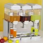 美科三缸搅拌喷射式果汁机SMART-3PSP 美科果汁机 搅拌喷淋式冷饮果汁机