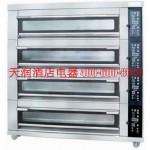新麦SK-634TG炉电烤箱三层12盘 玻璃门电烤炉 【新麦电烤箱批发 SINMAG烤箱包邮】
