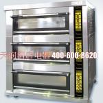 新麦三层九盘燃气烤箱SM-803SG煤气烤炉 【新麦烤箱 SINMAG烤箱批发 包运输 包安装 包调试】