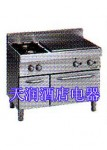 意大利MODULAR 70/110 TPFG燃气热面炉带双头炉连烤炉(1210)