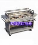 美国Wood Stone WS-SFB-SAT固体燃料烧烤炉(1210)