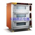 万锋WDL-3-3三层三盘电烘炉 电烤箱